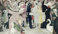 Saturdays People AP 1972 Limited Edition Print by Norman Rockwell - 0