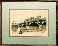 Paris Bridge 1932 HS Limited Edition Print by Norman Rockwell - 1