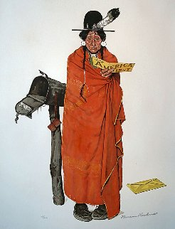 See America First Limited Edition Print by Norman Rockwell