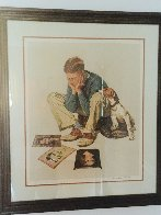 Starstruck 1976 Limited Edition Print by Norman Rockwell - 3