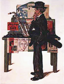 Jazz It Up AP 1976 Limited Edition Print by Norman Rockwell