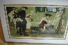Colonial Sign Painter 1970 Limited Edition Print by Norman Rockwell - 1