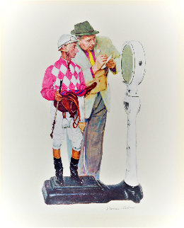 Weighing In AP Limited Edition Print - Norman Rockwell