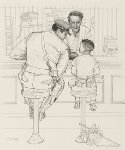 Runaway 1958  Limited Edition Print - Norman Rockwell