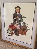 Back From Camp 1976 Limited Edition Print by Norman Rockwell - 1
