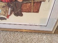 Back From Camp 1976 Limited Edition Print by Norman Rockwell - 2