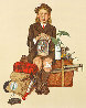 Back From Camp 1976 Limited Edition Print by Norman Rockwell - 0