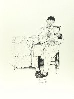 Two O'clock Feeding Limited Edition Print by Norman Rockwell - 1
