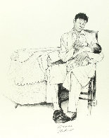 Two O'clock Feeding Limited Edition Print by Norman Rockwell - 0