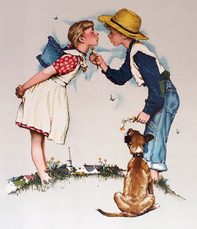 Buttercup 1970 Limited Edition Print - Norman Rockwell