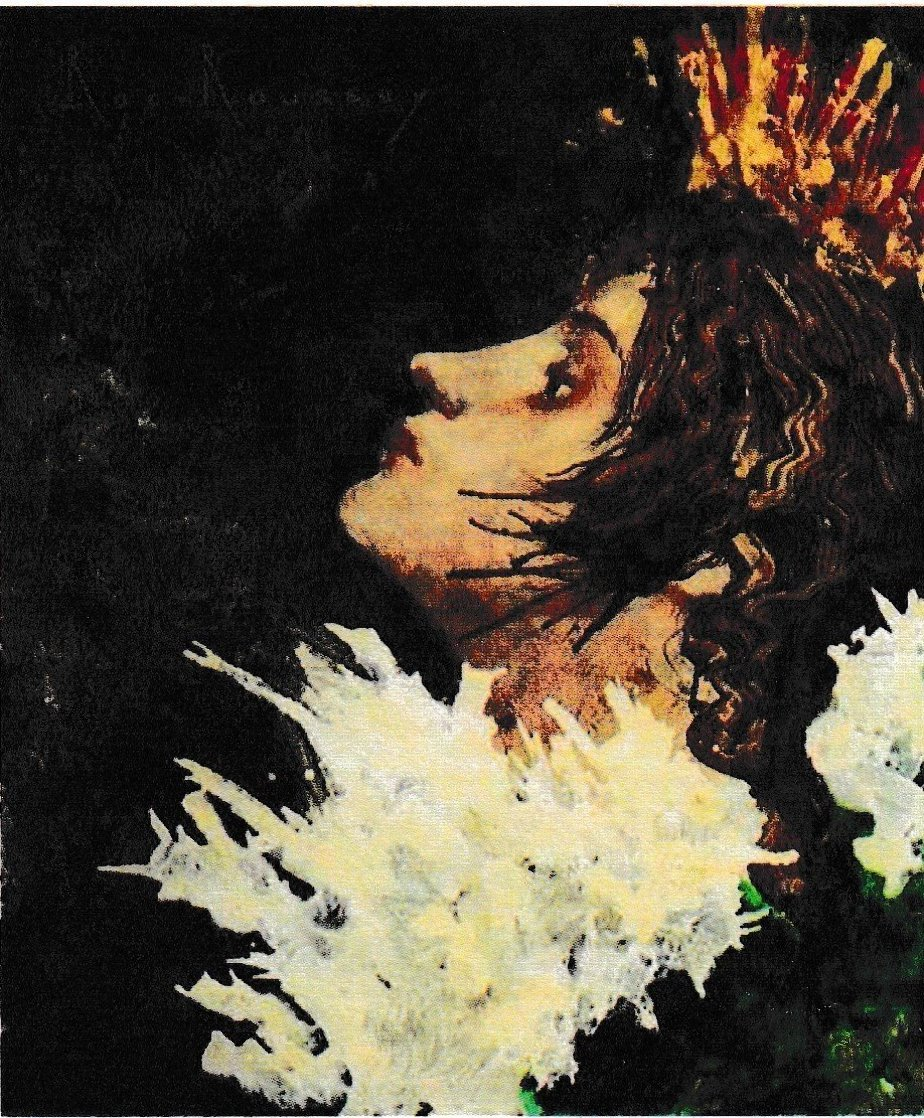 Pavane 2008 71x71 Super Huge Original Painting by Jean-Pierre Roc-Roussey