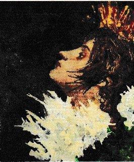 Pavane 2008 71x71 Original Painting - Jean-Pierre Roc-Roussey