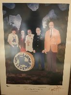Louisiana Ledgends 1981 HS Limited Edition Print by Blue Dog George Rodrigue - 1