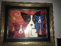 By the Light of the Journey  1997 Limited Edition Print by Blue Dog George Rodrigue - 1