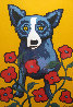 A Garden Party 1998 Limited Edition Print by Blue Dog George Rodrigue - 0