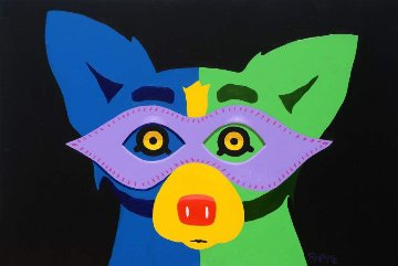 Mardi Gras 2015 Limited Edition Print - Blue Dog George Rodrigue
