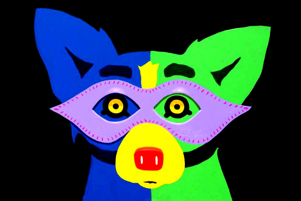 Mardi Gras 2015 Limited Edition Print by Blue Dog George Rodrigue