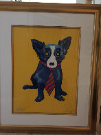 Lunch At the Club AP 1996 Limited Edition Print by Blue Dog George Rodrigue - 1