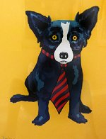 Lunch At the Club AP 1996 Limited Edition Print by Blue Dog George Rodrigue - 4