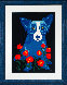 How My Garden Grows 1996 Limited Edition Print by Blue Dog George Rodrigue - 2