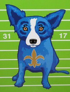 We Blues Dem Away 2010 Limited Edition Print - Blue Dog George Rodrigue