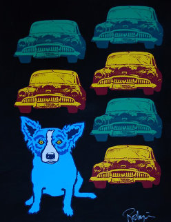 Junkyard Dog 2010 Limited Edition Print by Blue Dog George Rodrigue