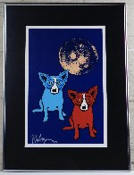 Cosmo's Moon 1992 Limited Edition Print by Blue Dog George Rodrigue - 1