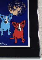 Cosmo's Moon 1992 Limited Edition Print by Blue Dog George Rodrigue - 3