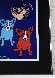 Cosmo's Moon 1992 Limited Edition Print by Blue Dog George Rodrigue - 4