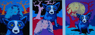 Night Love AP Limited Edition Print by Blue Dog George Rodrigue - 0