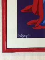 Hiding From the Moon 1995 Limited Edition Print by Blue Dog George Rodrigue - 4