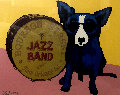 You Ain't Nothing But a Hound Dog 2003 Limited Edition Print - Blue Dog George Rodrigue