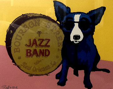 You Ain't Nothing But a Hound Dog 2003 Limited Edition Print by Blue Dog George Rodrigue
