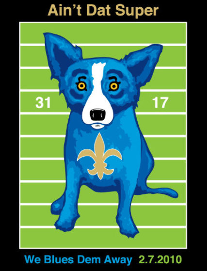 We Blues Them Away 2010 HS Limited Edition Print by Blue Dog George Rodrigue