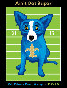 We Blues Them Away 2010 HS Limited Edition Print by Blue Dog George Rodrigue - 0