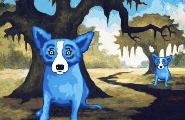She Lives Across the Bayou 2010 Limited Edition Print by Blue Dog George Rodrigue
