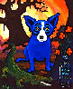Absolut Vodka 1992 Limited Edition Print by Blue Dog George Rodrigue - 0