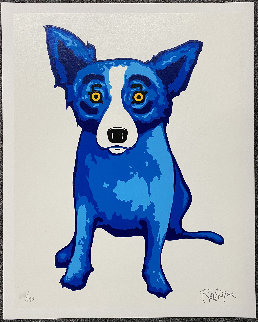 Purity of Soul Limited Edition Print - Blue Dog George Rodrigue
