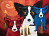 By the Light of the Journey 1997 Limited Edition Print by Blue Dog George Rodrigue - 0