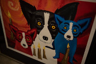By the Light of the Journey 1997 Limited Edition Print by Blue Dog George Rodrigue - 3