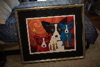 By the Light of the Journey 1997 Limited Edition Print by Blue Dog George Rodrigue - 2