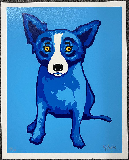 Blue Skies Shining on Me 2005 Limited Edition Print by Blue Dog George Rodrigue
