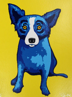 Sunshine on My Shoulder 2005 Limited Edition Print - Blue Dog George Rodrigue