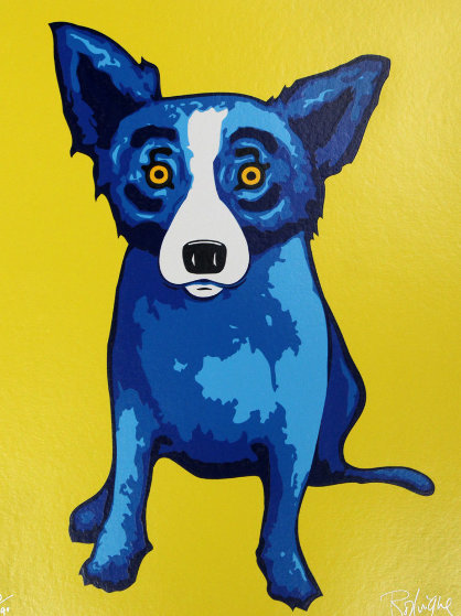 Sunshine on My Shoulder 2005 Limited Edition Print by Blue Dog George Rodrigue
