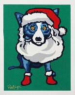 Ho Ho Ho 2000 Limited Edition Print by Blue Dog George Rodrigue - 1