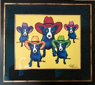 High Noon 2002 Limited Edition Print by Blue Dog George Rodrigue - 1