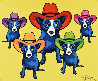 High Noon 2002 Limited Edition Print by Blue Dog George Rodrigue - 0