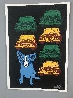 Junkyard Dog 1993 Limited Edition Print by Blue Dog George Rodrigue - 1
