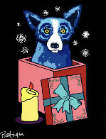 Midnight Surprise 2000 Limited Edition Print by Blue Dog George Rodrigue - 0
