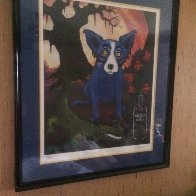 Absolute Vodka 1991 Limited Edition Print by Blue Dog George Rodrigue - 1